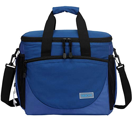 Large Cooler Bag,VASCHY 30-Can 23L Insulated...