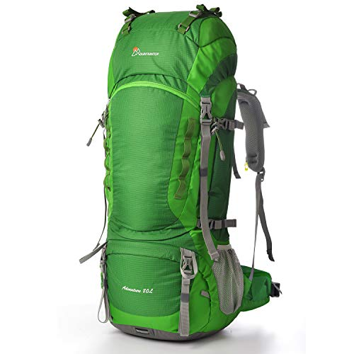 Mountaintop 55L/80L Hiking Backpack with Rain...