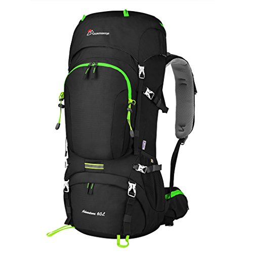 MOUNTAINTOP 50L/60L Hiking Backpack with Rain...