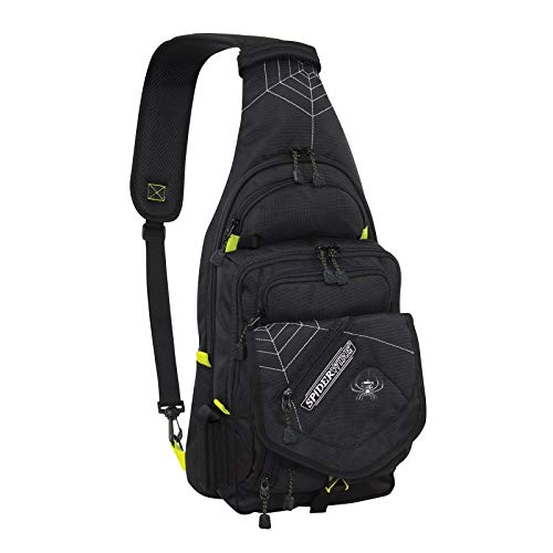 SpiderWire Sling Fishing Backpack, 15-Liter ,...