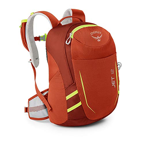 Osprey Youth Jet 12 Backpack, Strawberry Red,...
