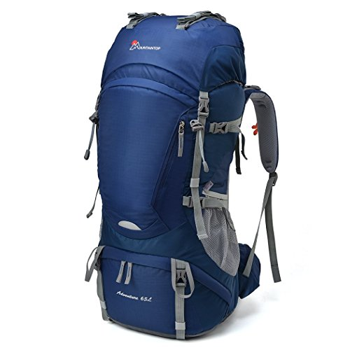 Mountaintop 65L Outdoor Hiking Backpack...