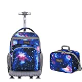 Tilami Rolling Backpack Laptop 18 inch with...
