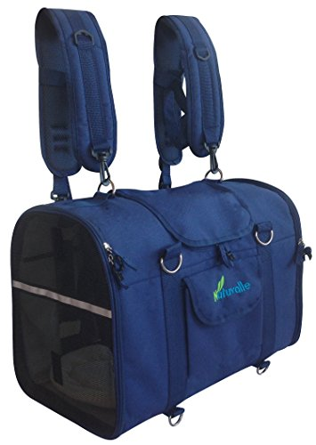 6-in-1 Sturdy Pet Carrier Backpack, Front...