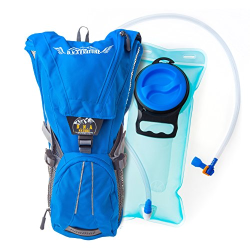 Hydration Backpack Pack With 2L Water Bladder...