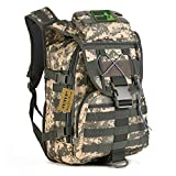 Huntvp 40L Military Tactical Backpack MOLLE...