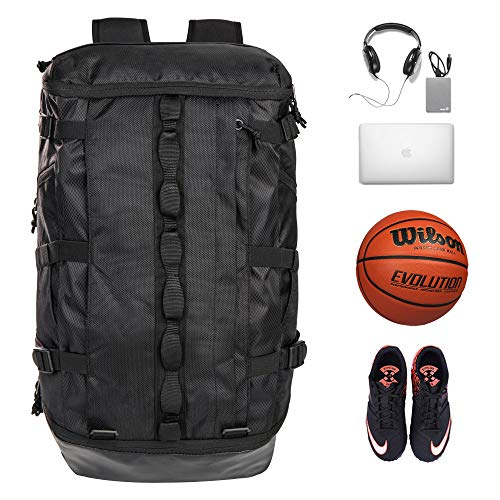Ultimate Sports Laptop Backpack with Ball...