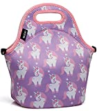 VASCHY Lunch Box Bag for Girls, Neoprene...