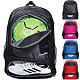 Athletico Youth Soccer Bag - Soccer Backpack...