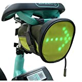 FANCYWING LED Cycling Saddle Bag/Bicycle...