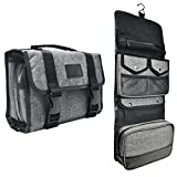 Tailored Hanging Toiletry Bag - Removable TSA...
