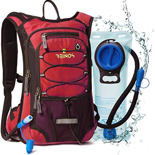 REINOS Hydration Backpack with 2L Bladder for...