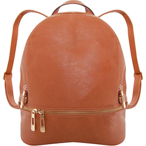 Humble Chic Vegan Leather Backpack Purse for...