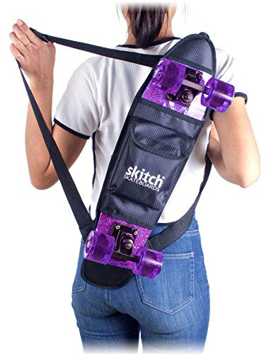Skitch 22' Mini Skateboard Backpack - Bag for...