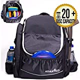 Athletico Power Shot Disc Golf Backpack - 20+...